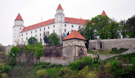 Old castle in Bratislava, Slovakia, Europe Royalty Free Stock Image