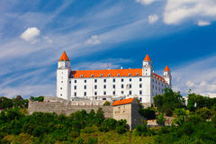 Old Castle in Bratislava on a Sunny Day Stock Images