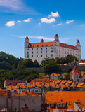 Old Castle in Bratislava on a Sunny Day Royalty Free Stock Photography