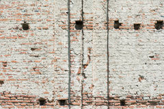 Old Castle Brick Wall Royalty Free Stock Images