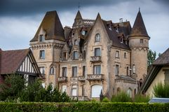 Old castle in Brittany Stock Photo