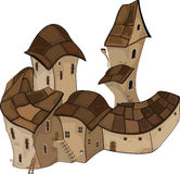 The old Castle. Cartoon Stock Photography