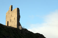 Old castle on cliff top Stock Photos