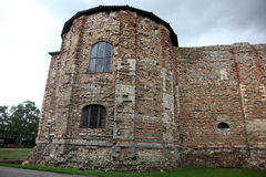 Old castle in Colchester 11th century Norman Stock Photo