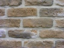 Old castle colorful brick wall close up. Old castle colorful brick wall royalty free stock photography