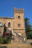 Old Castle on Corfu island Stock Images