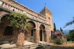 Old Castle on Corfu island Stock Image