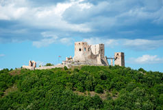 Old castle at Csesznek Stock Images
