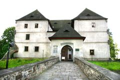 Old castle in czech republic Royalty Free Stock Images