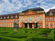 Old castle - Czech Republic Dobris Stock Image