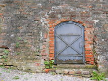 Old castle door Stock Images