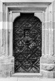 Old castle door Stock Photo