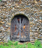 Old castle door royalty free stock image