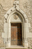 Old Castle Door Royalty Free Stock Images