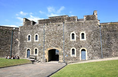 Old castle in Dover Stock Photo