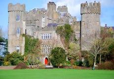Old Castle Dublin, Ireland. Irish medevial Malahide castle, near Dublin Ireland Stock Photo