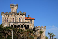 Old castle in Estoril Stock Photography
