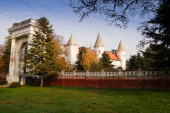 Old castle Fantast Stock Photo