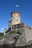 Old castle in Finland Royalty Free Stock Photography