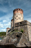 Old castle in Finland Stock Images