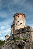 Old castle in Finland Royalty Free Stock Photos