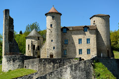 Old castle in france Stock Photos