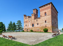 Old castle of Grinzane Cavour, Italy. Stock Images