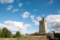 The old castle grounds Royalty Free Stock Photo