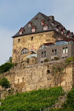 Old castle on  hill Royalty Free Stock Images