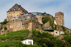 Old castle on  hill Stock Photography