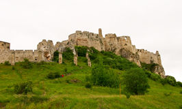 Old castle on hill Royalty Free Stock Photos