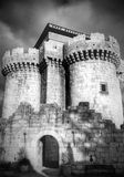 Old castle. Historical spanish castle Royalty Free Stock Images