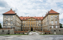 Old castle in Holic, Slovakia, cultural heritage Royalty Free Stock Images