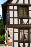 Old castle house in Andlau, Alsace Stock Image