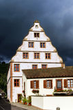 Old castle house in Andlau, Alsace Royalty Free Stock Photography