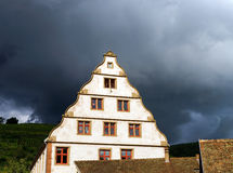 Old castle house in Andlau, Alsace Royalty Free Stock Image