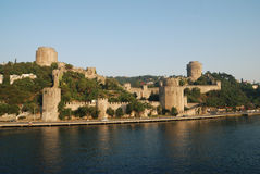 Old Castle In Istanbul Stock Images