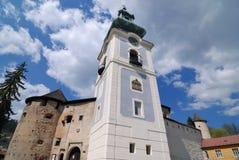 Old Castle In Summer Banska Stiavnica Royalty Free Stock Images