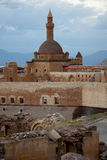 Old castle - Ishak Pasha Palace Stock Image