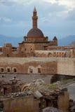 Old castle - Ishak Pasha Palace. Castle Ishak Pasha Palace near Dogubayazit in Eastern Turkey Stock Image
