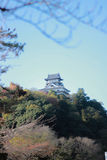 Old castle in Japan Stock Photos