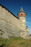 Old castle in Kamynec-Podolskiy, Ukraine Royalty Free Stock Photo