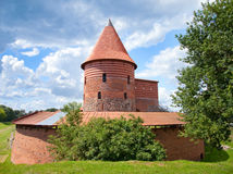 Old castle in Kaunas Royalty Free Stock Photography