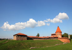 Old castle in Kaunas, Lithuania. Stock Photography