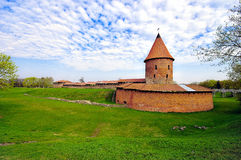 Old castle in Kaunas, Lithuania. Royalty Free Stock Photo