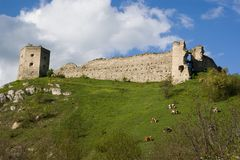 Old castle of Kudrinci village. Stock Photography