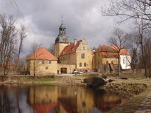 Old castle in Latvia Royalty Free Stock Photo