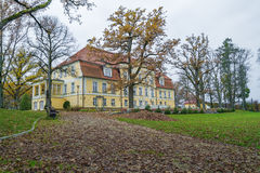 Old castle in Latvia. Royalty Free Stock Photo