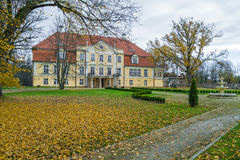 Old castle in Latvia. Stock Photo