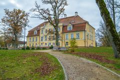 Old castle in Latvia. Royalty Free Stock Image